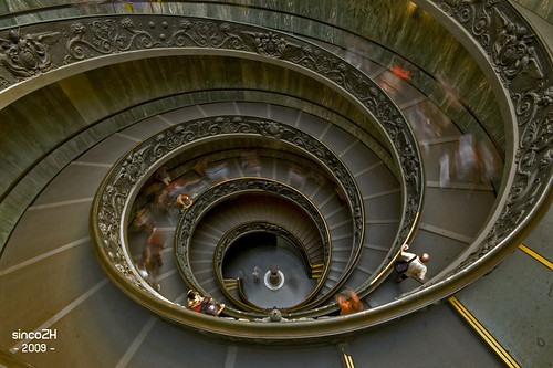 Exit Vatican Museum (The Vatican Stairs) | by Daniel Lois (SincoZH)