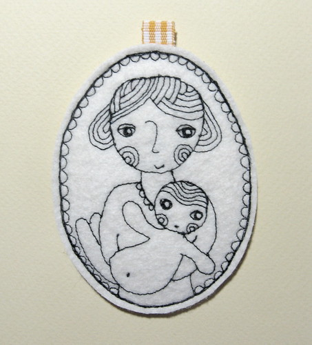 Mother with her little boy (keyholder) | by ledannapatchwork