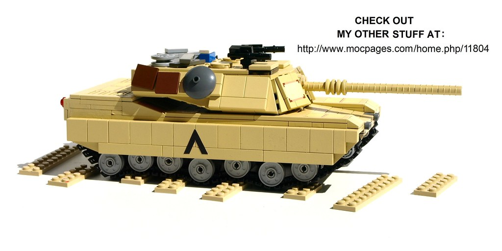 Lego M1a1 Abrams Tank Instructions