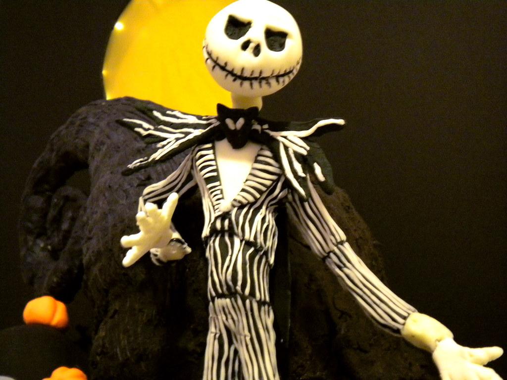 Jack from Nightmare Before Christmas Cake | Yahairam | Flickr