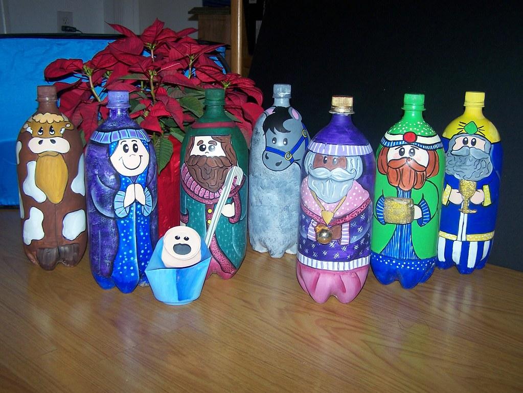 Botellas De Plastico Decoradas