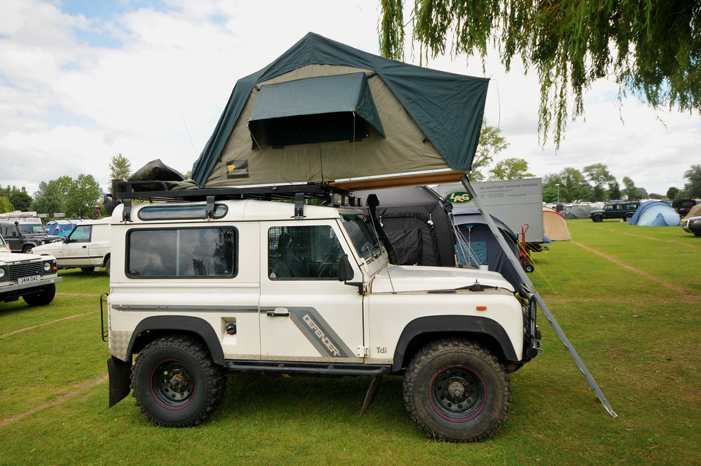 Defender 90 With Hannibal Roof Tent Andy Carter Flickr
