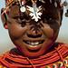 Samburu girl with traditional ornaments - Kenya