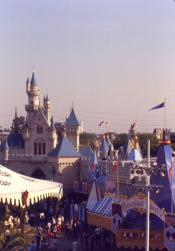 Fantasyland Theatre and Cinderella Castle Disneyland, 1979 | by Distraction Limited