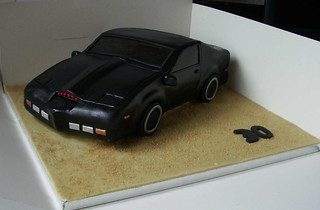 knightrider cake | by thecake-bake.co.uk
