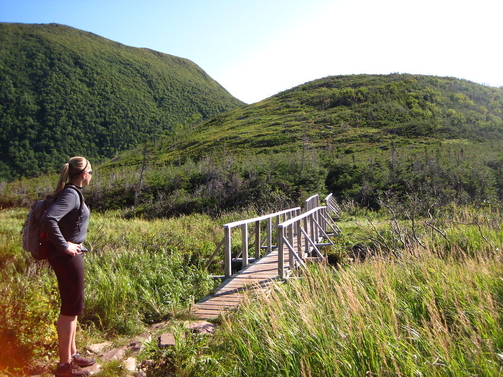 Hiking in Gros Morne National
