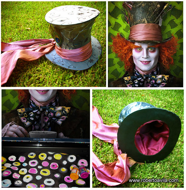 my mad hatter hat johnny deep halloween how to create