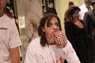 Zombie Fest 2009: brain eating zombie | by daveynin