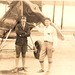 Photograph of airmail pilots Edison Mouton and Rexford Levisee
