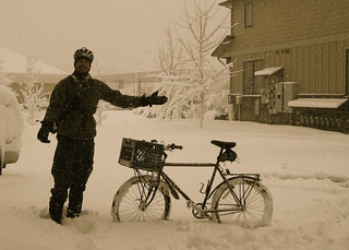 Sam and his Trek 830 Winter Commuter | by samhDOTnet