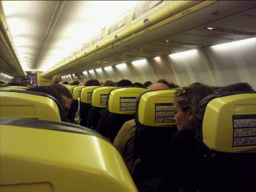 Inside Ryanair plane | Karen Bryan | Flickr