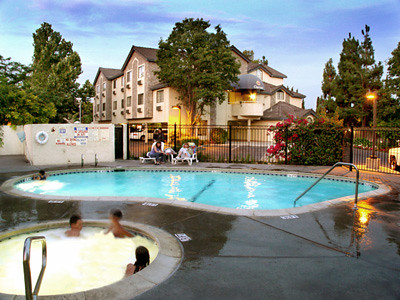 Private outdoor swimming pool jacuzzi and pool lounge are flickr for California private swimming pool code