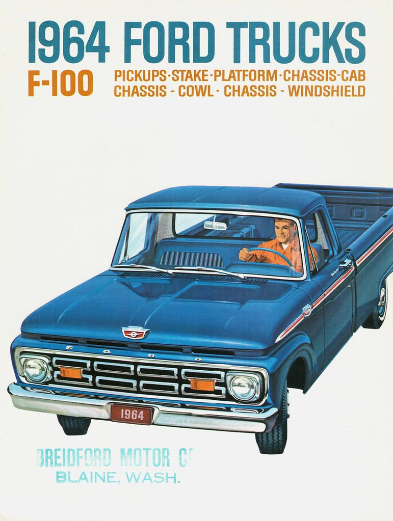 New Ford Trucks >> 1964 Ford F-100 Trucks | Alden Jewell | Flickr