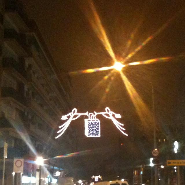Merry christmas luces de navidad en mi barrio sant - Barrio de sant andreu ...