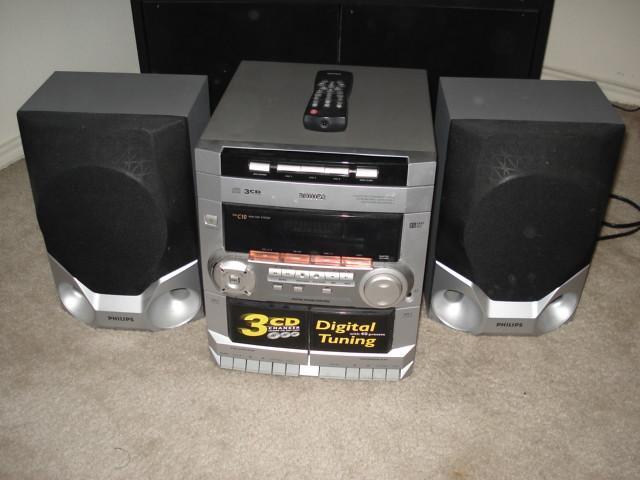 philips 3 cd changer with remote 25 imran2009 flickr. Black Bedroom Furniture Sets. Home Design Ideas
