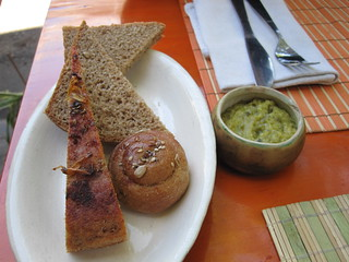 Bread and dip starter | by veganbackpacker