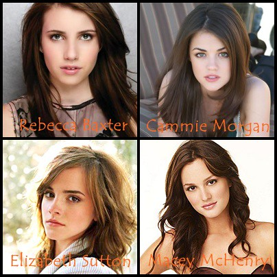 Gallagher Girls Rebecca Baxter Emma Roberts Cammie