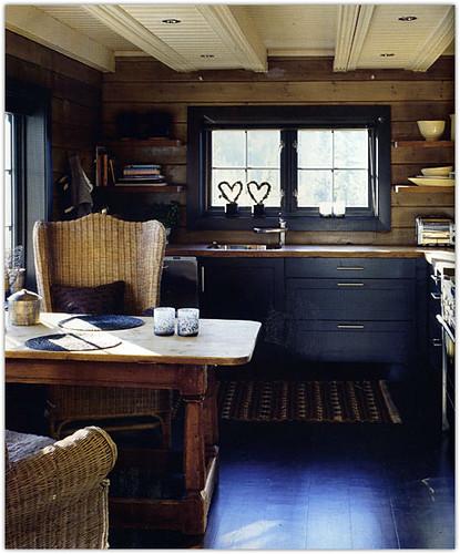 Rustic Kitchen Jobs: Source Unknown {rustic Scandinavian Kitchen}