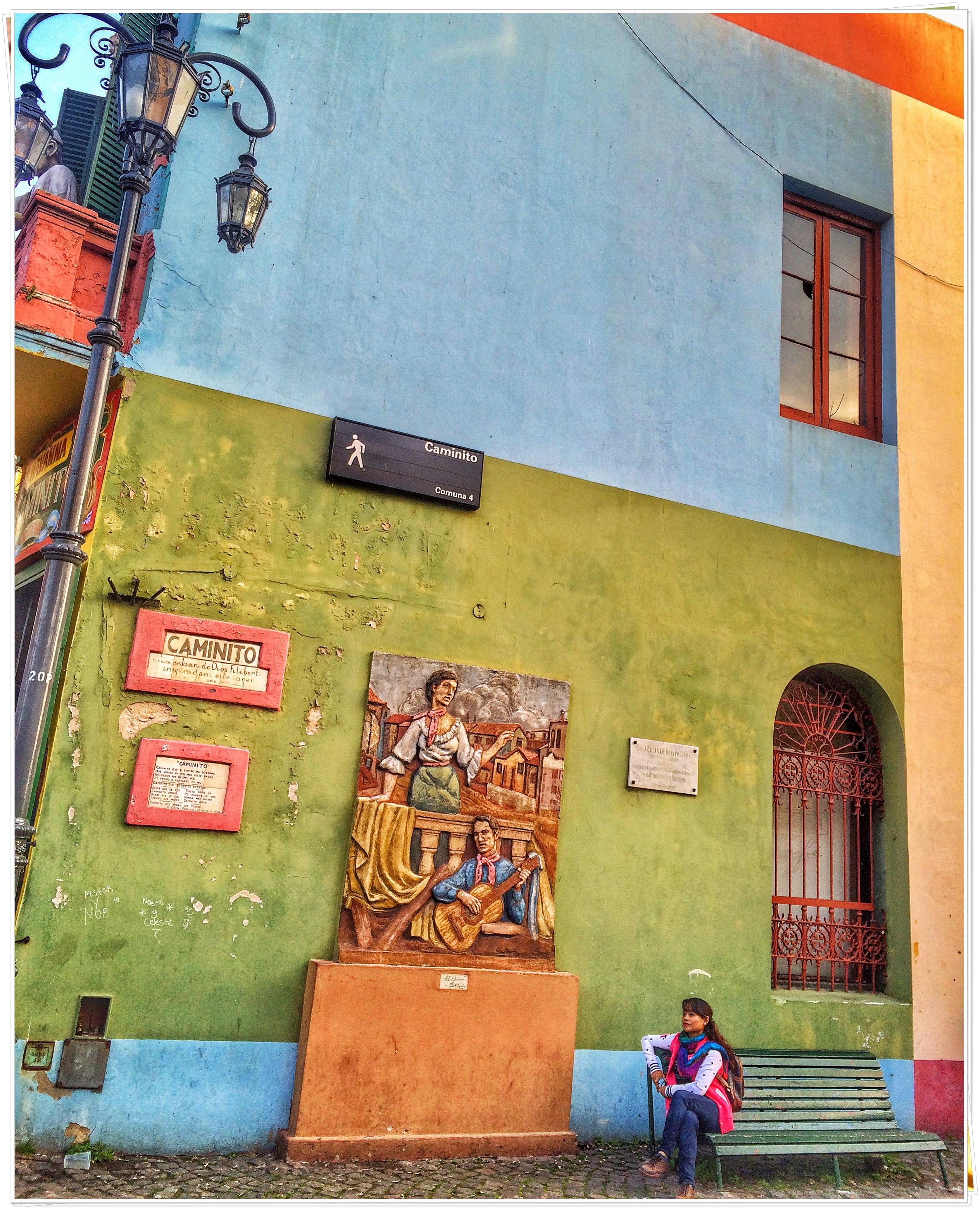 2016 Buenos Aires Argentina (Caminito, La Boca)