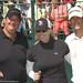 Brian Baumgartner, Janet Gretzky and Oliver Hudson