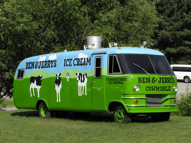 Ben and Jerry Bus