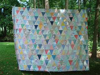 Vintage Quilt | by Little Edith Bee