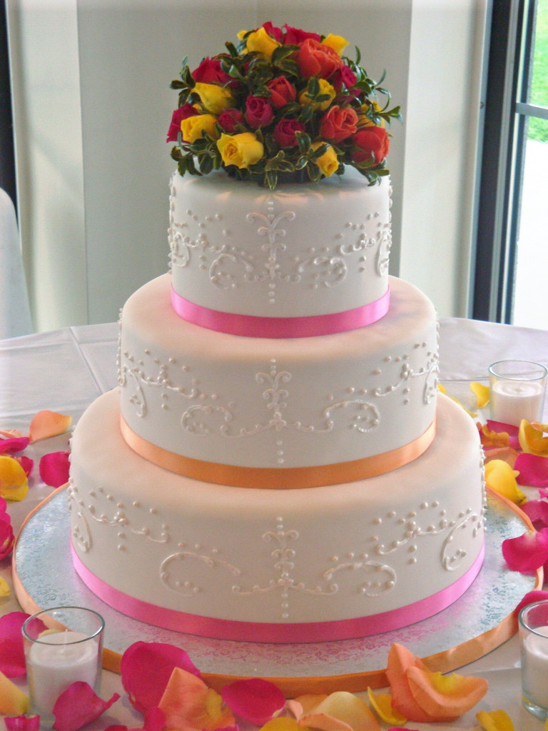 wedding cake pattern design wedding cake this is my 4th wedding cake i think i 23386