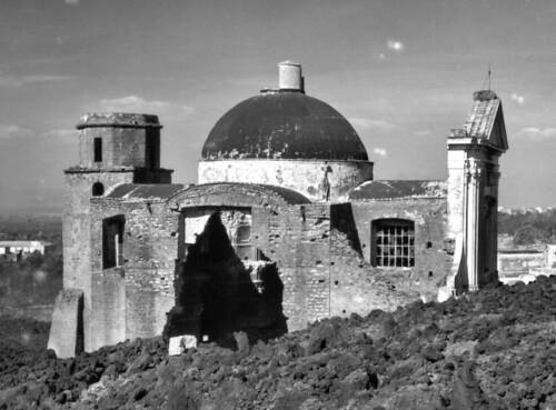 Church destroyed by lava san sebastiano al vesuvio 1944 - Agenzie immobiliari san sebastiano al vesuvio ...