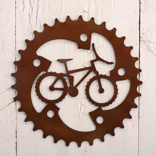 Mountain Bike Sprocket Wall Art Bike Wall Art Had To Be