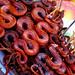 Grilled Snake. Bonn Om Toeuk. The Cambodian Water Festival In Phnom Penh