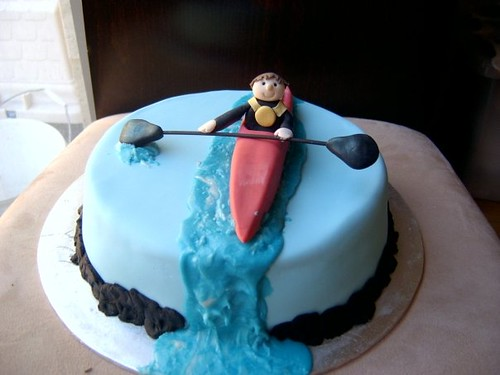 Canoe Cake Decorations
