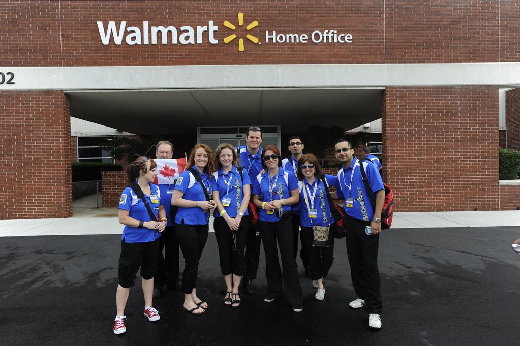 Visiting Associates Tour Walmart Home Office ...