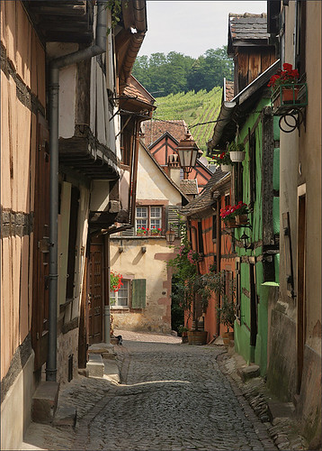 Alley in Riquewihr | by Foto Martien