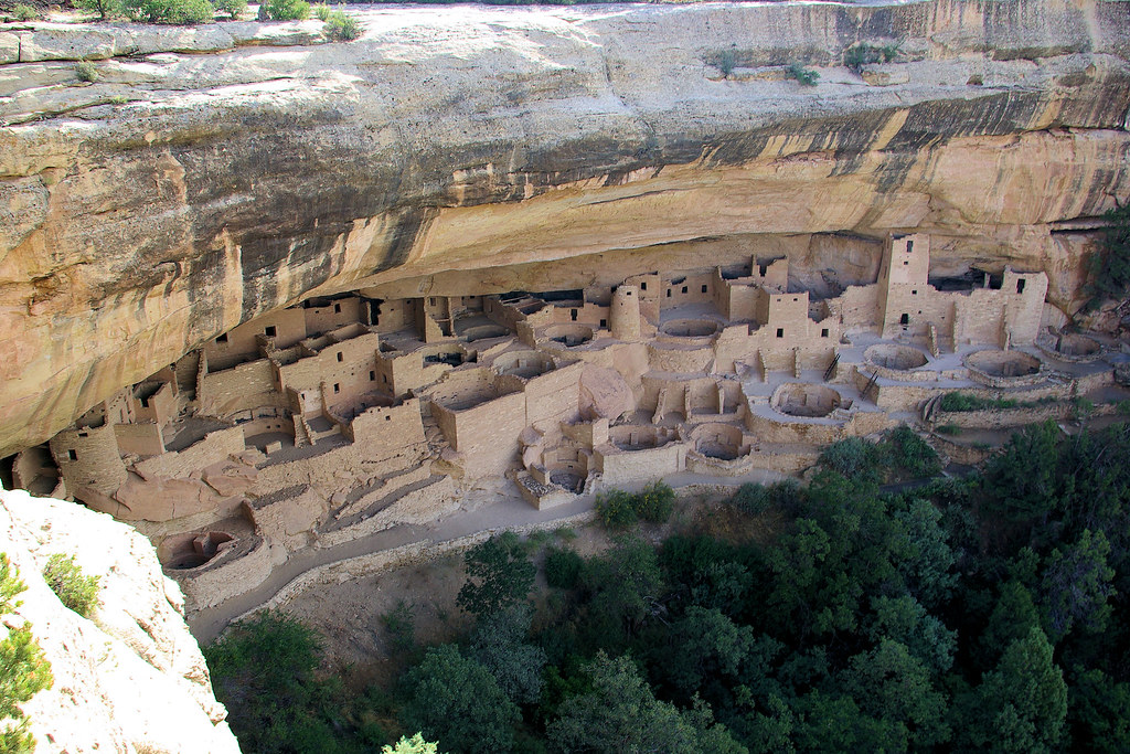 Photot Favorite: Cliff Palace (cliff dwelling), Mesa Vere National Park, Colorado, September 13, 2009 (Pentax K10D)