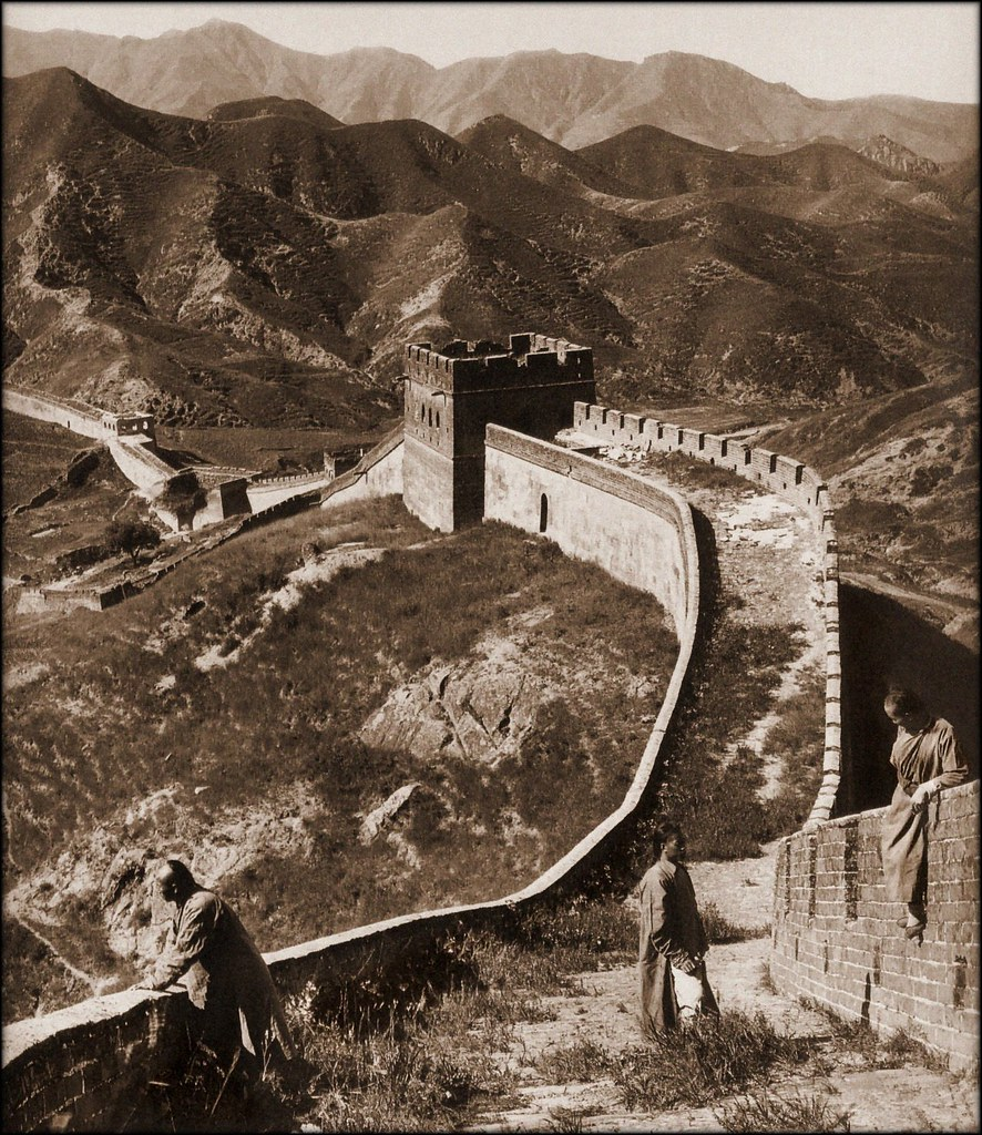Greatwall China 1907 Herbert G Ponting Restored By Ralphrepo