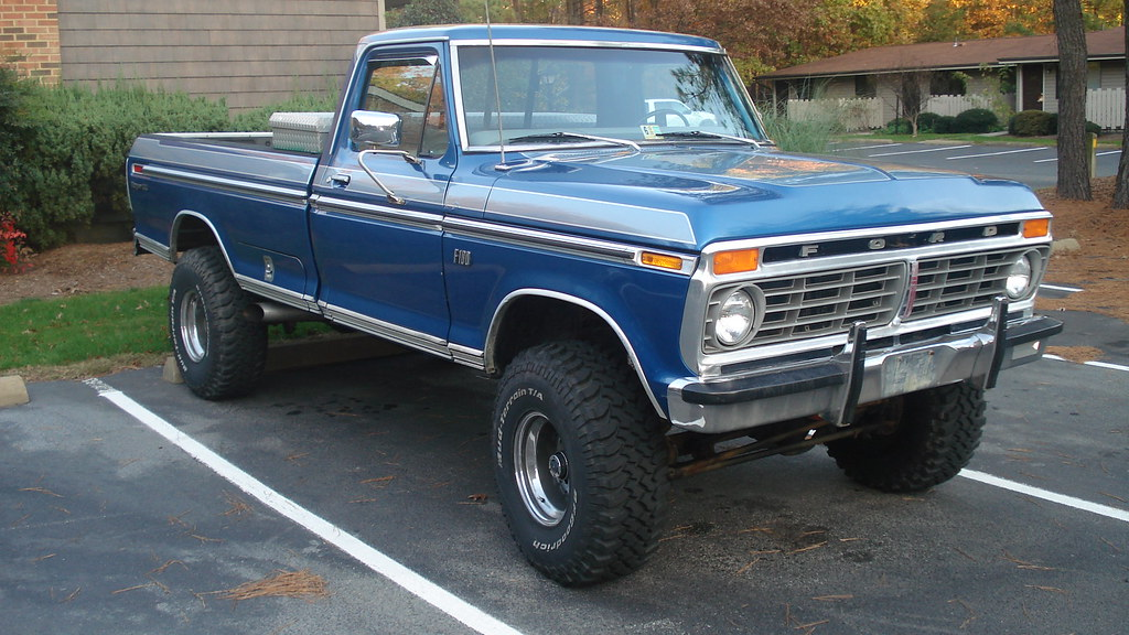 1973 Ford F100 4X4   andrew_pierre   Flickr