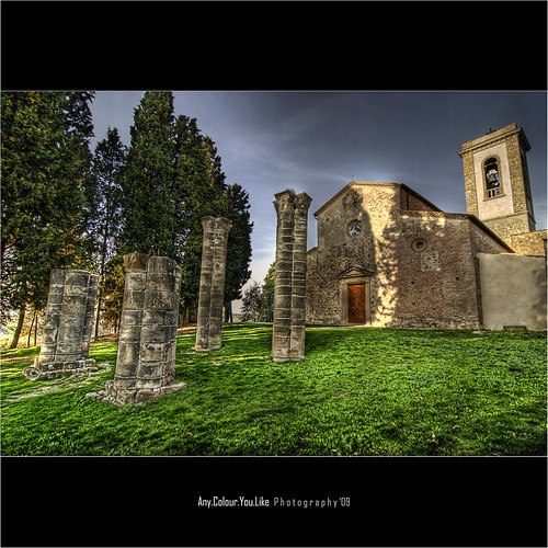 HDT: High Dynamic Tuscany | Pieve di Sant'Appiano In HDR | by Any.colour.you.like