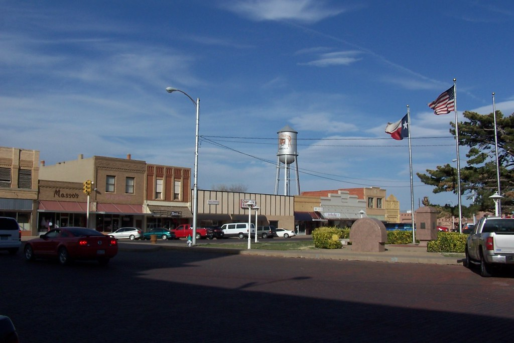 Beautiful Downtown Plainview Texas Plainview Is The