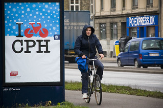 I Bike CPH Winter | by Mikael Colville-Andersen