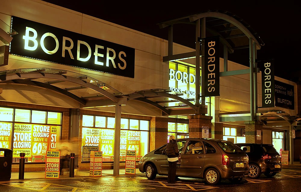 Borders Closing Sale Borders Bookstore Closing Down