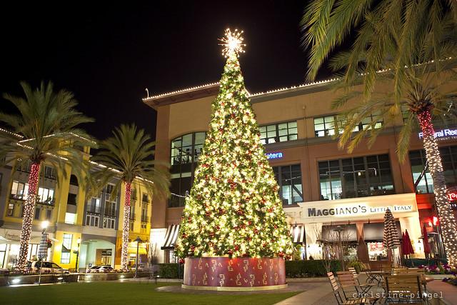 Santana Row Christmas Tree