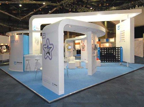 European Exhibition Stand Builders : Abbott diagnostics exhibition stand european
