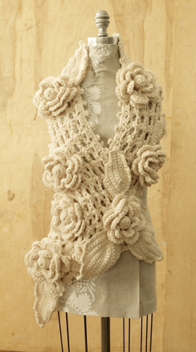 Knitting Jobs Ireland : Free crochet pattern irish lace scarf