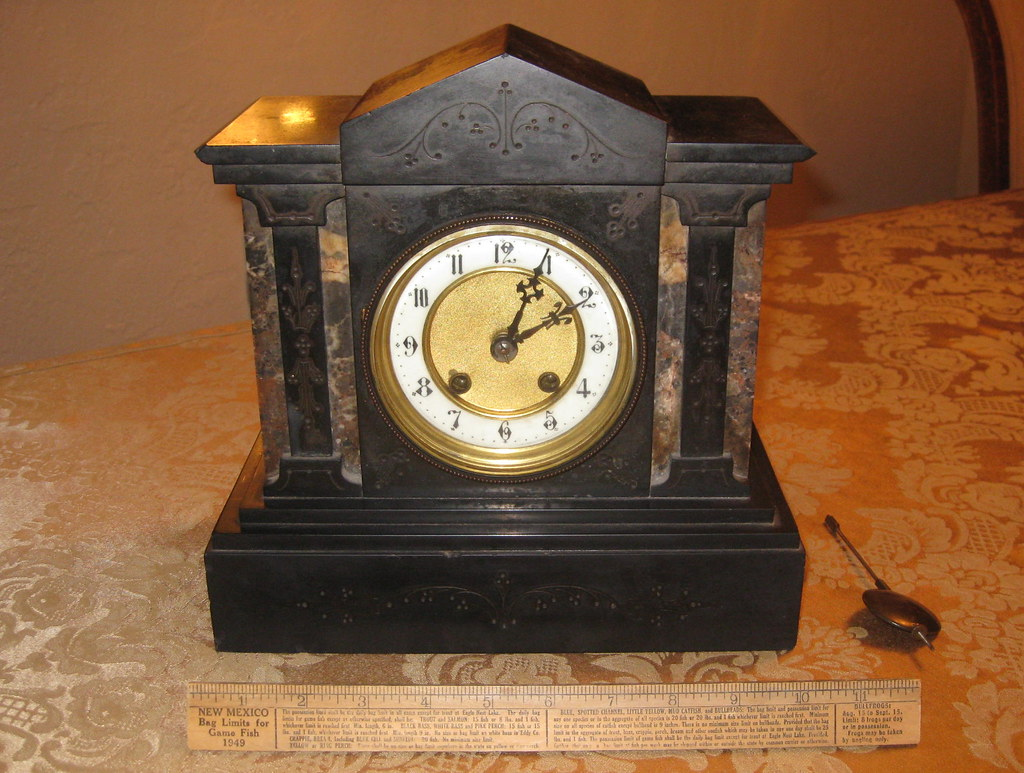 Hau hac hamburg american clock company mantle clock flickr amipublicfo Choice Image