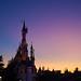 Disneyland Paris at Sunset