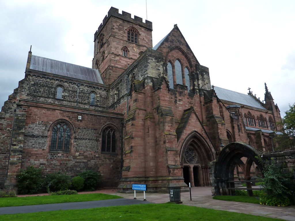 Carlisle Cathedral Finding A Bench I Sat Down Ate A