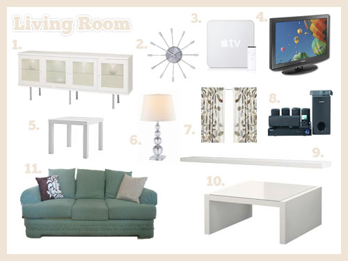 living room mood board 1 ikea bonde sideboard 2 george n flickr. Black Bedroom Furniture Sets. Home Design Ideas
