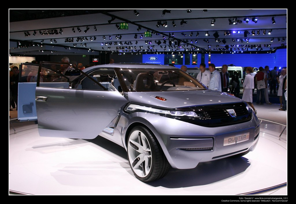 2009 Dacia Duster Concept Car 01 Renault Design Central Flickr