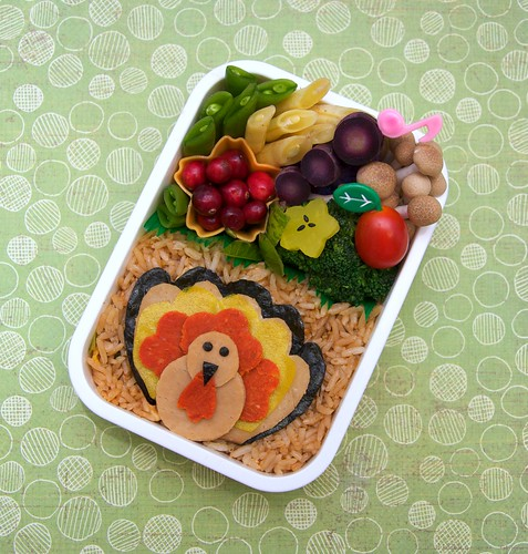 turkey day bento | by gamene