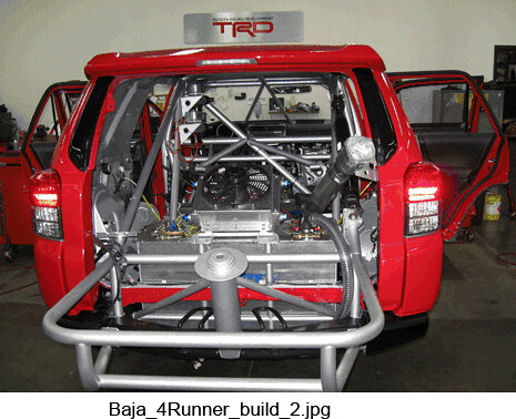 Baja 1000 Toyota 4runner Prototype Build Flickr